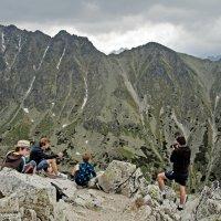 Meeting on the Peak :: Roman Ilnytskyi