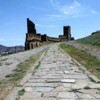 Генуэзская крепость :: Мария Дулепова