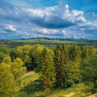 Пейзаж на Закарпатье возле Олеського замка :: Сергей Савич