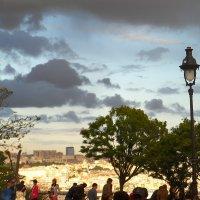 Вид на Париж с Монмартра :: Галина