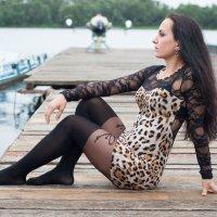 На пристане под дождем :: Анна Лебедева