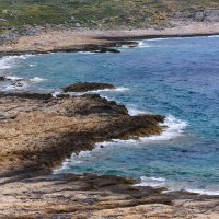бухта балос греция крит . :: юрий макаров