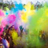 Индийский фестиваль красок ХОЛИ в Улан-Удэ :: Чингис Санжиев