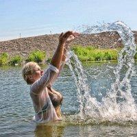 Фотосессия на воде  #Foto & #hair Юлия Гаврина #Model & #Style Юлия Маслова :: Юлия Маслова