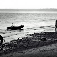 фигуры на берегу :: sv.kaschuk
