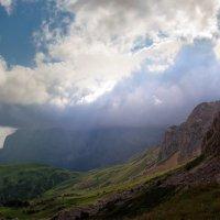 Облака легли на Фишт :: Нина
