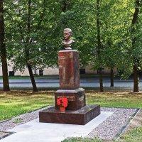 Памятник профессору Симановскому. :: Александр Лейкум