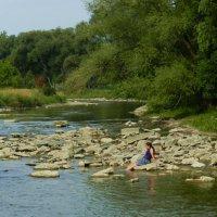 На речке, на речке, на том бережочке, мыла Марусенька белые ноги... :: Юрий Поляков