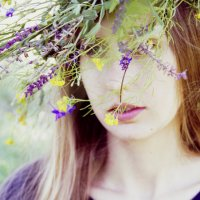 Венок из полевых цветов :: Юлия Быкова