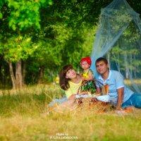 Евгения и ее семья :: Юлия Демидова