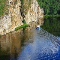 Река Исеть :: Галина Стрельченя