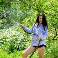 Алёнка на природе3 :: Дмитрий Фотограф