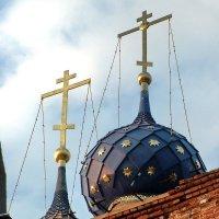 Купола Успенского храма :: Николай Варламов