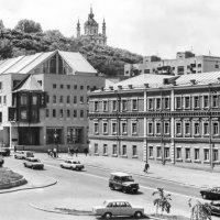 Киев- Подол и Андреевская церковь :: yuri Zaitsev