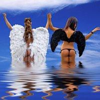 Ангелы уходят в небо :: Владимир Саблин