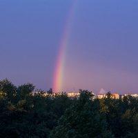 Радуга на закате :: Татьяна Чапкович