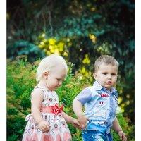 сладкая парочка... Артем и Валерия :: Зоя Kononenko