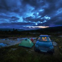 Ночь на перевале. :: Николай