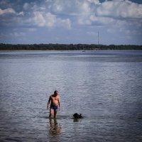 История одного купания... :: Nonna