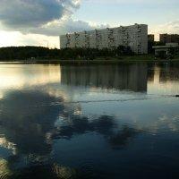 Летний вечер на пруду DSC07490 :: Андрей Лукьянов