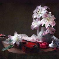 Этюд с лилиями :: lady-viola2014 -