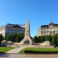 Памятник воинам Красной Армии в Будапеште :: Ольга Богачёва