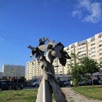 Скульптура на улице Татьяны Снежиной. :: Мила Бовкун