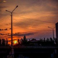 Закат над городом :: Ксения Базарова