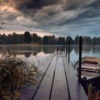 где озеро, там и лодки :: Дмитрий Бакулин