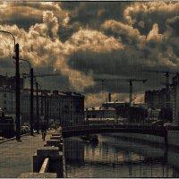Петербург. Набережная Обводного канала :: Станислав Лебединский