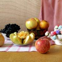 Пусть радость подарит вам Яблочный спас! :: Наталья Джикидзе (Берёзина)