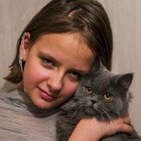 С Алисой. :: Ольга Некрасова