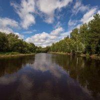 от поворота , до поворота - петляет таёжная река... :: Сергей
