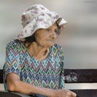 Панамка-из серии золотой возраст-бабушки бабульки.... :: Shmual Hava Retro