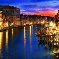 Фейерверк огней Большого канала. Венеция. :: Petr Milen