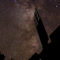 Старая Мельница на фоне Млечного Пути :: ViP_ Photographer