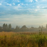 Августовский туман :: Олег Козлов