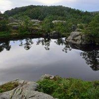 Горное озерцо :: Николаева Наталья