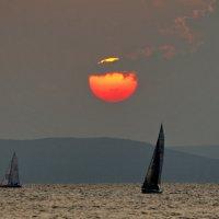 закат и парус-2 :: Ingwar