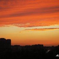Закат над Тюменью... :: Елена (Melena505) Моисеева
