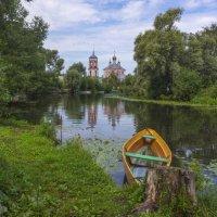На реке Трубеж :: Наталья Косарева