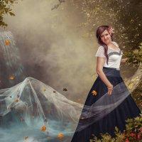Девушка-осень :: Svetlana Gordeeva
