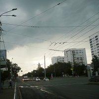 Гроза над городом :: натальябонд бондаренко