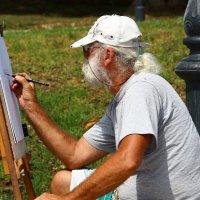 Уличный художник. Констанца. Румыния. :: Денис .
