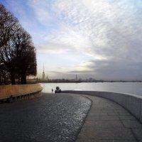 На стрелке Васильевского острова :: lady-viola2014 -