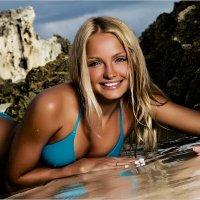 Портрет девушки на пляже :: Дмитрий Филиппов