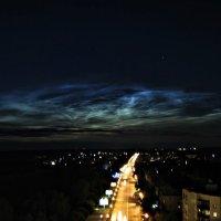 Серебристые облака :: Евгений Кузьминых