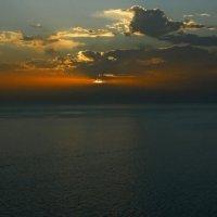 Закат на Тразименском озере :: Евгений Жиляев