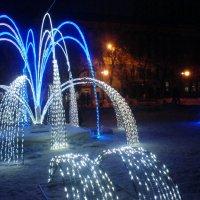 Зимний фонтан :: Alina Fly