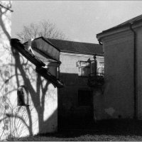 Старый двор. :: Владимир Пальчик
